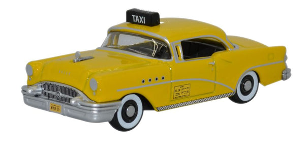 Oxford Diecast Buick Century 1955 New York Taxi