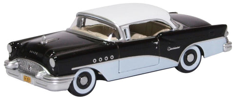 Oxford Diecast Buick Century 1955 Black White