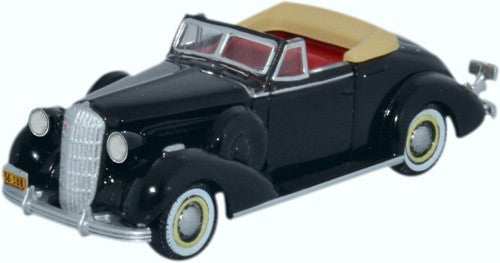 Oxford Diecast Buick Special Convertible Coupe 1936 Black