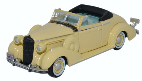 Oxford Diecast Buick Special Convertible Coupe 1936 Francis Cream