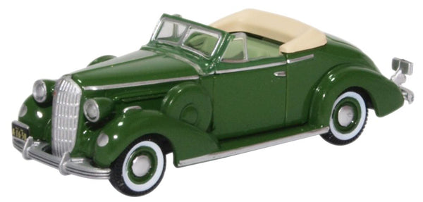 Oxford Diecast Buick Special Convertible Coupe 1936 Balmoral Green