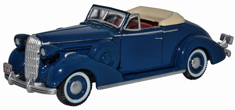 OXFORD DIECAST 1:87 Scale Musketeer Blue Buick Special Convertible 1936