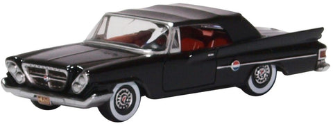 Oxford Diecast Chrysler 300 Convertible 1961 (closed) Black