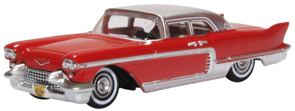 OXFORD DIECAST 1:87 Scale Cadillac Eldorado Brougham 1957 Dakota Red