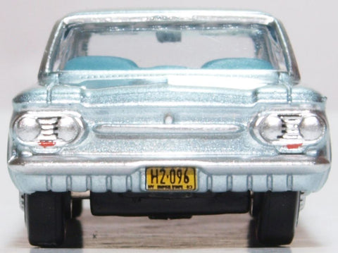 Oxford Diecast Chevrolet Corvair Coupe 1963 Satin Silver