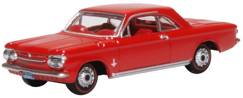 Oxford Diecast Chevrolet Corvair Coupe 1963 Riverside Red