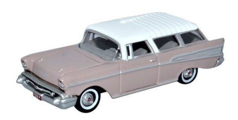 Oxford Diecast Chevrolet Nomad 1957 Dusk Pearl/imperial Ivory