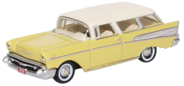 Oxford Diecast Chevrolet Nomad 1957 Colonial Cream/india Ivory