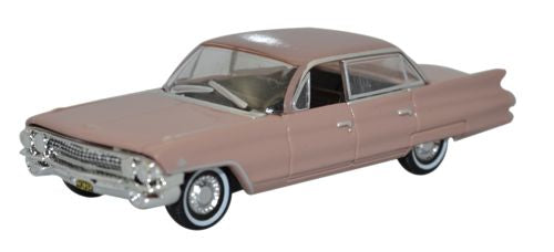 Oxford Diecast Cadillac Sedan Deville 1961 Topaz Metallic