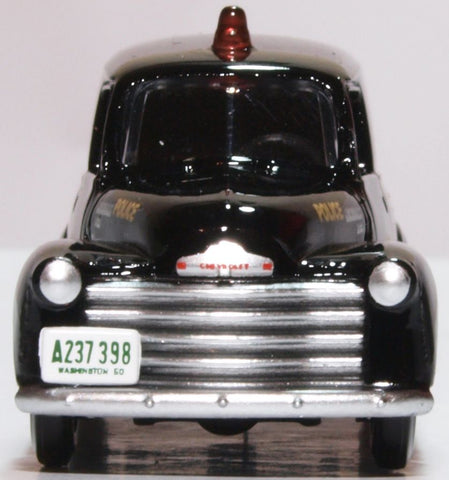 Oxford Diecast Chevrolet Panel Van 1950 Washington DC Police