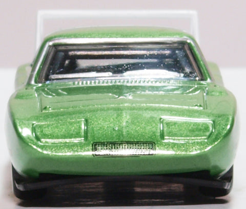 Oxford Diecast Dodge Charger Daytona 1969 Bright Green/white