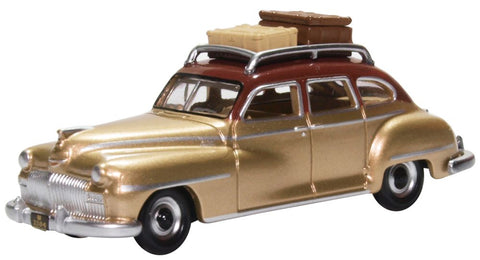 Oxford Diecast Desoto Suburban 1946 Rhythm Brown/trumpet Gold