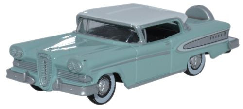 Oxford Diecast 1958 Edsel Citation Ice Green/Snow White - 1:87 Scale - OxfordDiecast