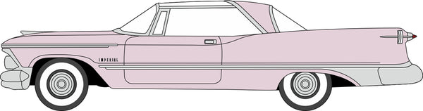 Oxford Diecast Imperial Crown 2 Door Hardtop 1959 Persian Pink