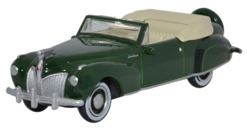 Oxford Diecast Lincoln Continental 1941 Spode Green - 1:87 Scale
