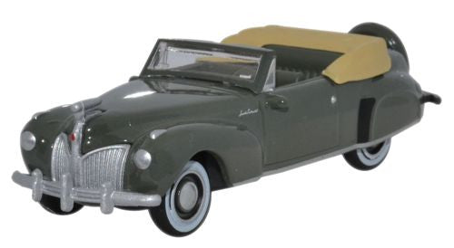 Oxford Diecast Lincoln Continental 1941 Pewter Grey - 1:87 Scale