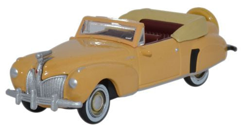 Oxford Diecast Lincoln Continental 1941 Rockingham Tan - 1:87 Scale