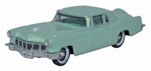 Oxford Diecast 1956 Continental MkII Summit Green - 1:87 Scale - OxfordDiecast