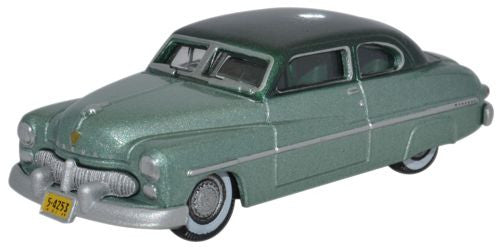 Oxford Diecast Mercury 1949 Adelia Green_Mogul Green - 1:87 Scale