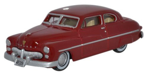 Oxford Diecast Mercury 1949 Pirate Red - 1:87 Scale