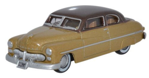 Oxford Diecast Mercury 1949 Lima Tan_ Haiti Beige - 1:87 Scale