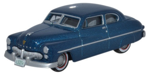 Oxford Diecast Mercury Monarch 1949 Teal Blue
