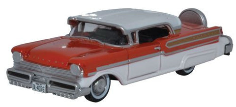 Oxford Diecast 1957 Mercury Turnpike Fiesta Red_Classic White - 1:87 S