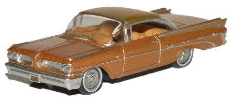 Oxford Diecast Pontiac Bonneville Coupe 1959 Canyon Copper Metallic