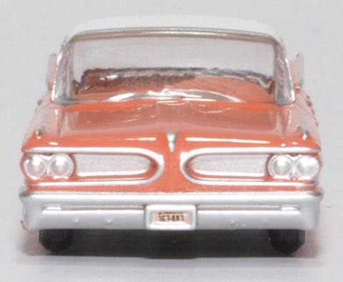 Oxford Diecast Pontiac Bonneville Coupe 1959 Sunrise Coral