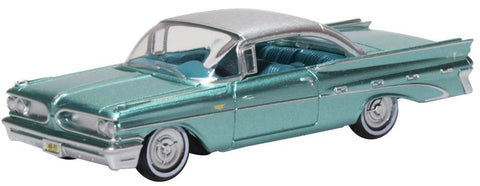 Oxford Diecast Pontiac Bonneville Coupe 1959 Seaspray Green