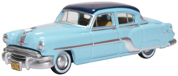 Oxford Diecast Pontiac Chieftain 4 Door 1954 Mayfair Blue/san Marino B