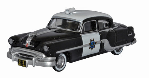 Oxford Diecast California Highway Patrol Pontiac Chieftain 4 Door 1954
