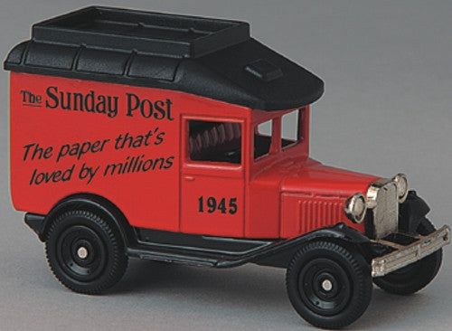 Oxford Diecast Sunday Post