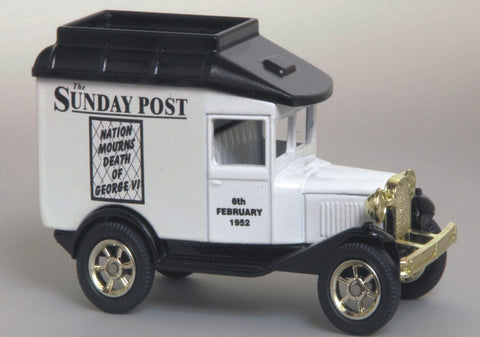 Oxford Diecast Sunday Post Jubilee