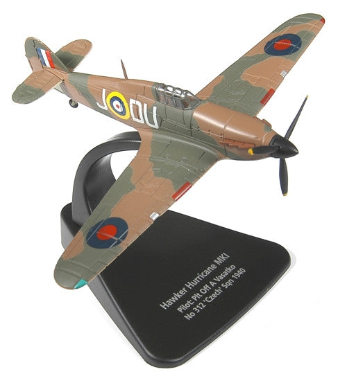 Oxford Diecast Hawker Hurricane MkI 1:72 Scale Model Aircraft