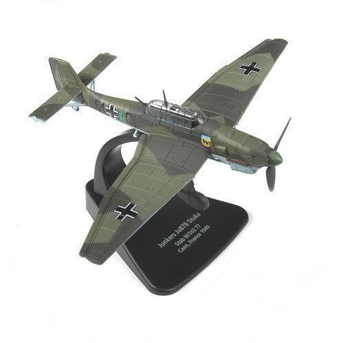 Oxford Diecast Junkers Ju-87 Stuka 1:72 Scale Model Aircraft