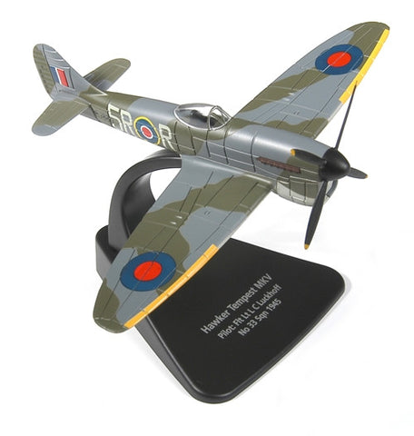 Oxford Diecast Hawker Tempest MkV 1:72 Scale Model Aircraft