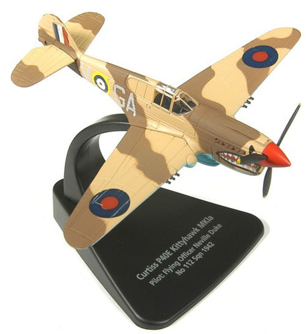 Oxford Diecast Kittihawk MkIa 1:72 Scale Model Aircraft