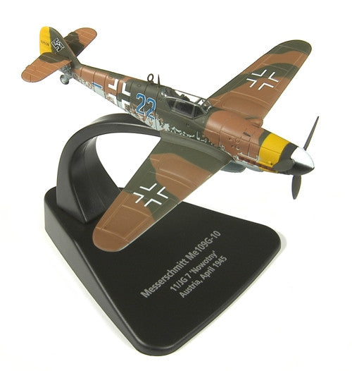 Oxford Diecast Messerschmitt Bf 109G 1:72 Scale Model Aircraft