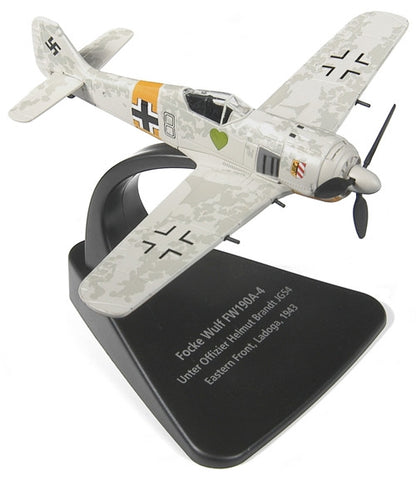 Oxford Diecast Focke Wulf 190-A4 1:72 Scale Model Aircraft