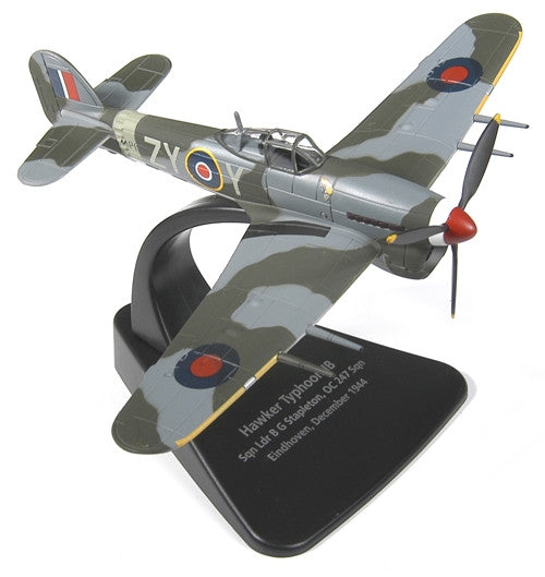 Oxford Diecast Hawker Typhoon Mk1b 1:72 Scale Model Aircraft