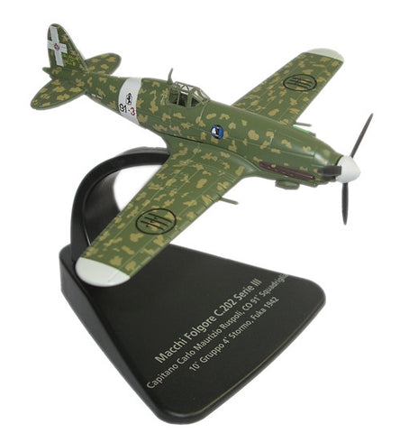Oxford Diecast Macchi C202 1:72 Scale Model Aircraft