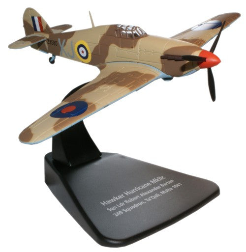 Oxford Diecast Hurricane MkIIc 1:72 Scale Model Aircraft