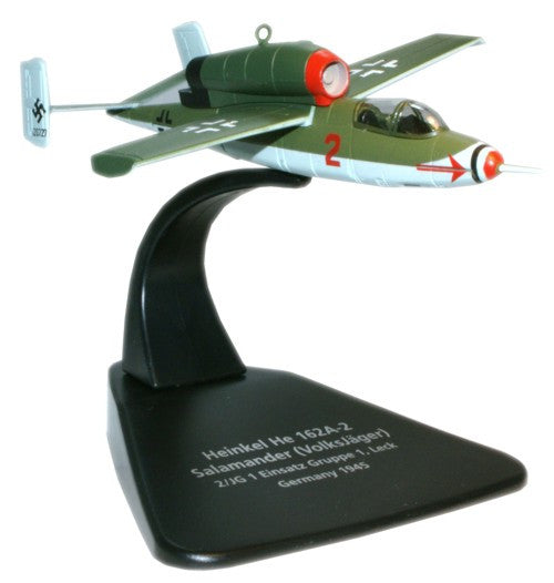 Oxford Diecast Heinkel HE162 1:72 Scale Model Aircraft