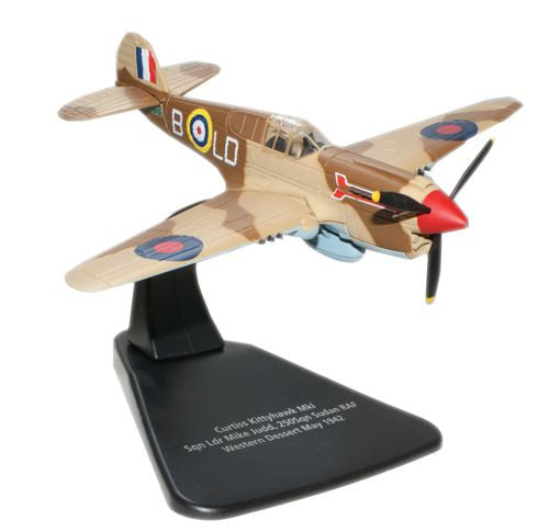Oxford Diecast Kittyhawk MkIa  1:72 Scale Model Aircraft