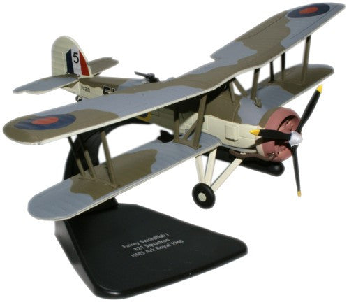 Oxford Diecast Fairey Swordfish 1:72 Scale Model Aircraft