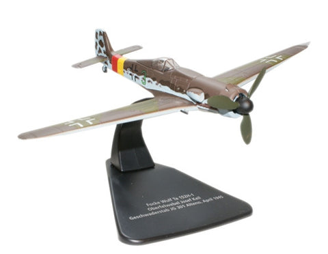 Oxford Diecast No Swastika  FW Ta152 1:72 Scale Model Aircraft