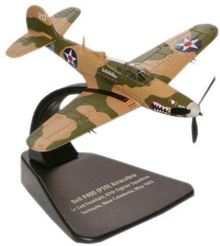Oxford Diecast Airacobra P39 1:72 Scale Model Aircraft