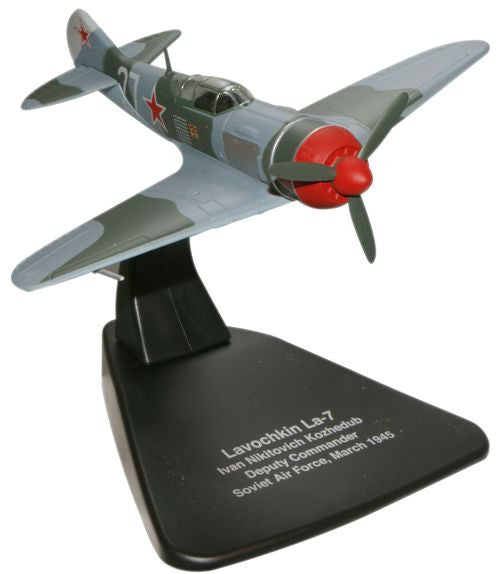 Oxford Diecast Kozhedub Lavochkin LA7 1:72 Scale Model Aircraft