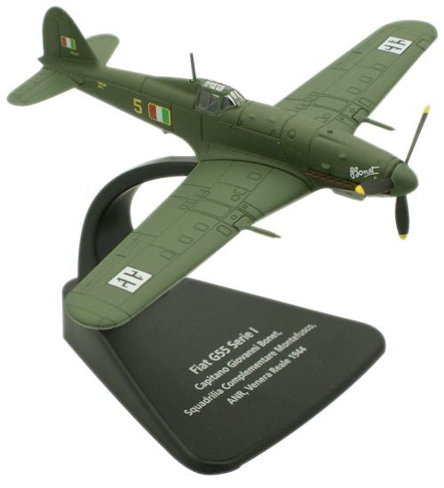 Oxford Diecast Fiat G55 1:72 Scale Model Aircraft